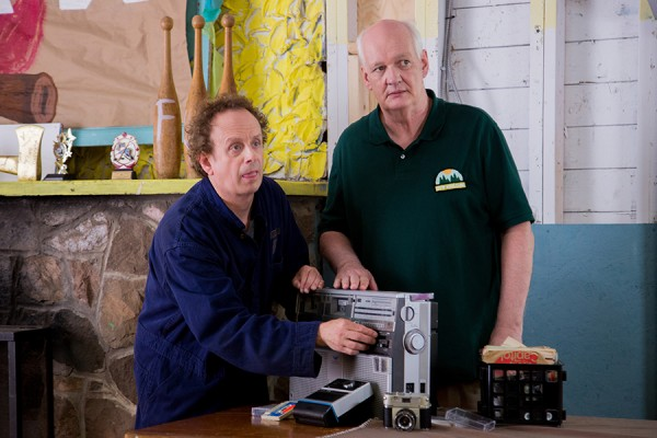 Kevin McDonald and Colin Mochrie in the comedy Boys vs. Girls, filmed in and around Windsor.
