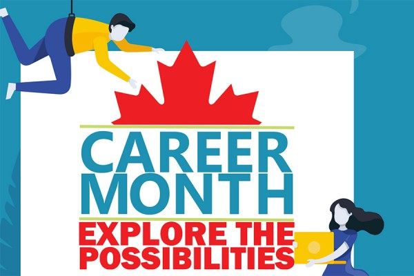 Canada Career Month graphic