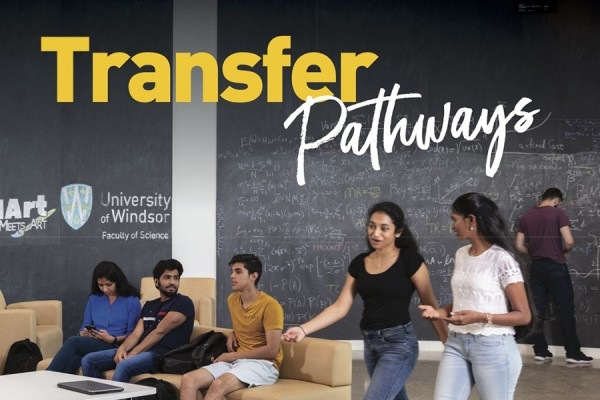 cover of the Transfer Pathways brochure