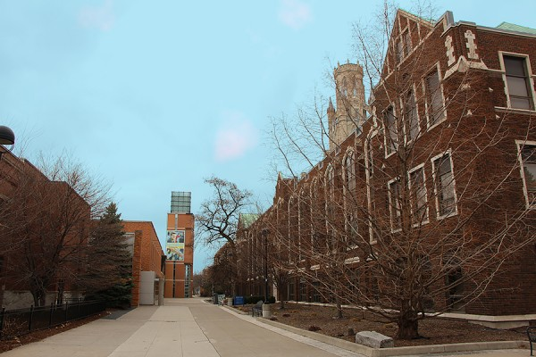 student centre and Dillon Hall