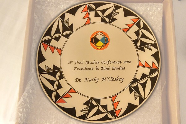 "Award for ""Excellence in Diné Studies."""