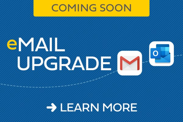 email upgrade
