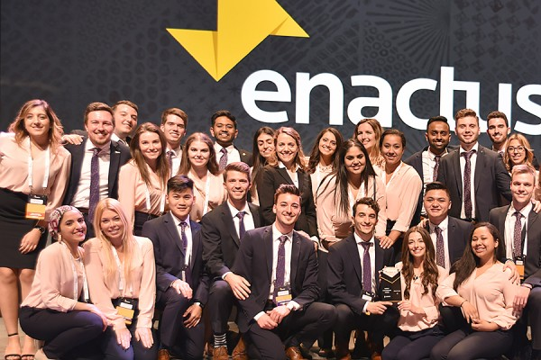 Windsor delegates to the national Enactus exposition