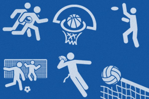 icons representing intramural sports