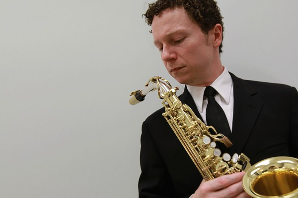 Saxophonist Jeffrey Price