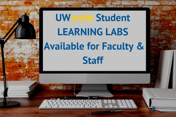 UWinsite learning lab
