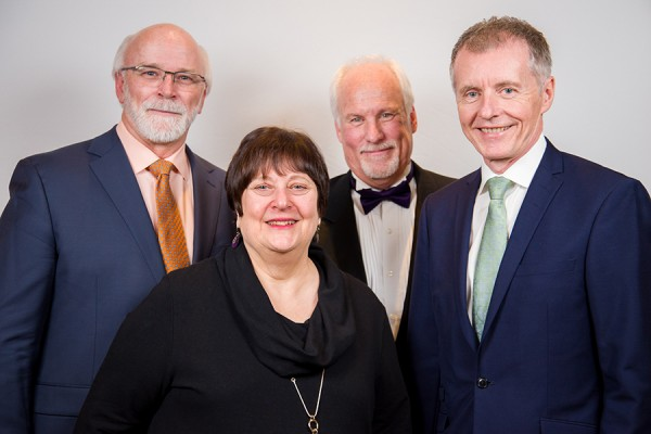 Michael J. Strong, Carol Herbert, Gerry Cooper, Alan Wildeman