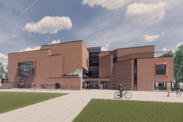 architectural rendering Ron W. Ianni Faculty of Law Building