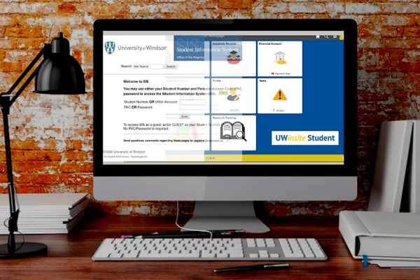 UWinsite screen