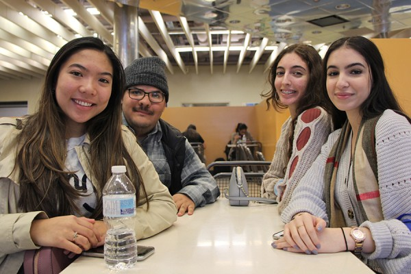 Jessica Rudi, Joshua Bowden, Mabelle Yousif, and Maral Haireek