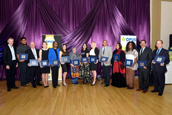 UWindsor students, faculty, and staff were honoured at the OPUS awards banquet, Friday, March 23.