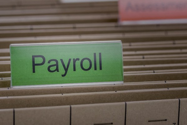 files labelled Payroll