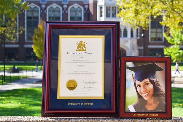 Diploma frame and picture frame