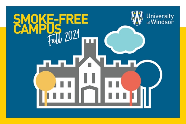 Smoke-free campus graphic