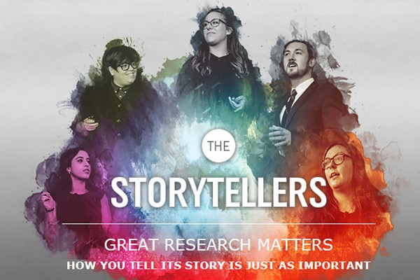 Storytellers graphic