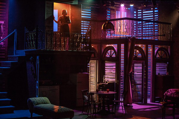 set of A Streetcar Named Desire