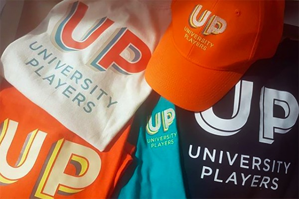 Apparel with University Players logo
