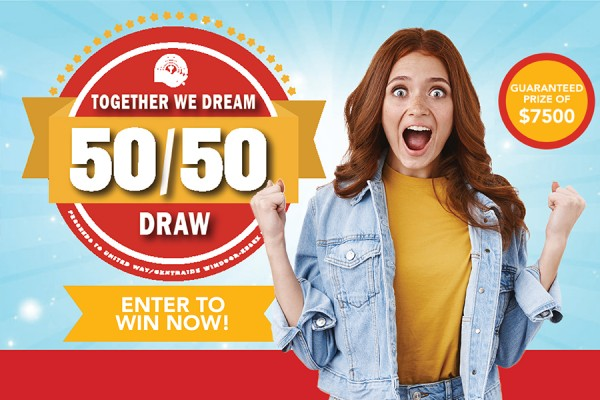 Together We Dream 50/50 draw