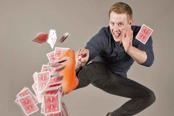 Magician and comedian Wes Barker will perform free, Wednesday in the student centre.