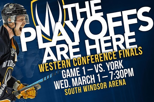 image promoting hockey playoffs