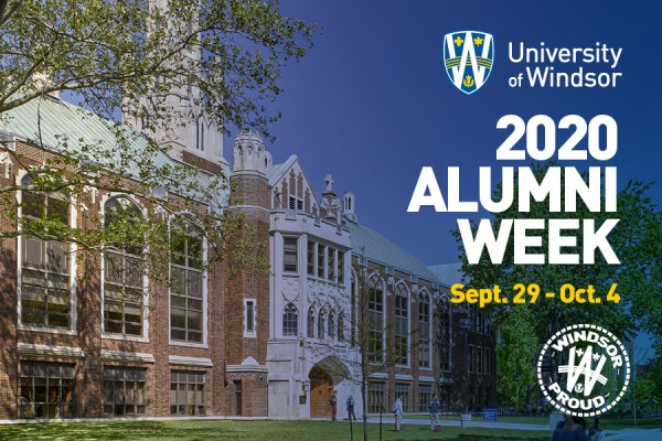 The University of Windsor's Alumni Week will run from Sept. 29 to Oct. 4