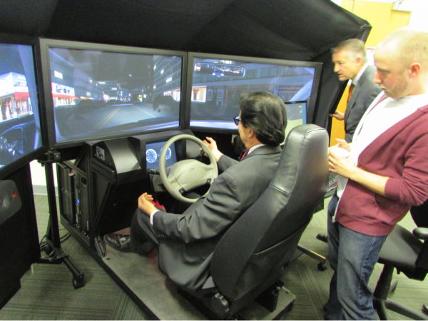 Transportation Science and Engineering scholarship program will support students' research projects, including the use of driving simulators to study lane change behaviour.