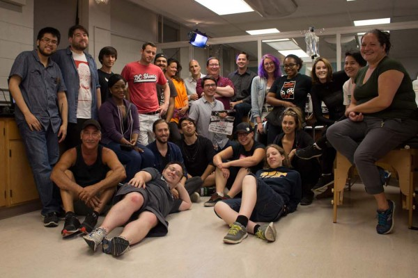 The Control film crew involved UWindsor Communication, Media and Film students as interns helping professor and filmmaker, Mike Stasko on the film set.