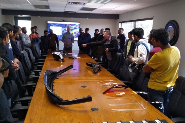Engineering students at the University of Windsor were able to get up close and personal with local manufacturers thanks to Manufacturing Day in Windsor-Essex County.