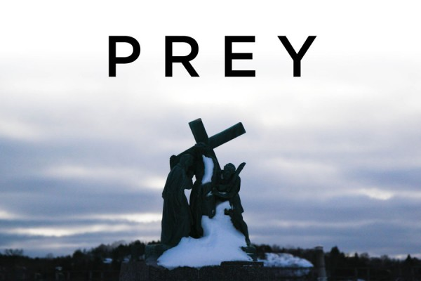 The title card for the documentary film PREY
