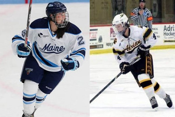Transfers Shawna Lesperance (l.) and Sydney Dobbin (r.) highlight this year's 2015-16 Lancers Women's Hockey recruiting class.