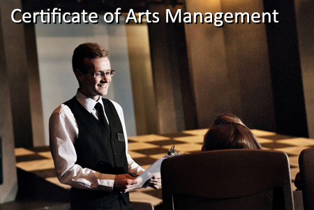 Certificate In Arts Management School Of Dramatic Art