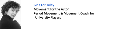 Gina Lori Riley. Movement for the Actor