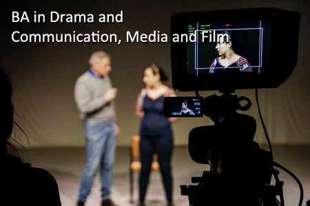 BA in Drama and Communication, Media and Film