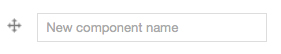 Web form component name field