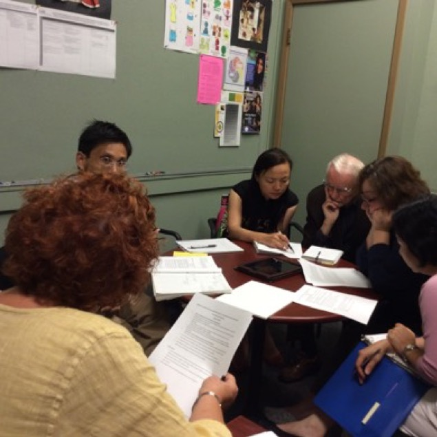 Meeting with OISE/University of Toronto Dr. Connelly and the TDSB for the sister school network with Shanghai