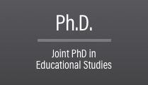 Joint Ph.D. in Educational Studies