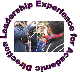 Logo: Leadership Experience for Academic Direction