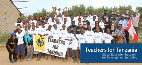 Group photo of Teachers for Tanzania delegation.