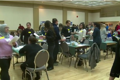 Faculty of Ed Students Team Up with United Way for Poverty Simulation
