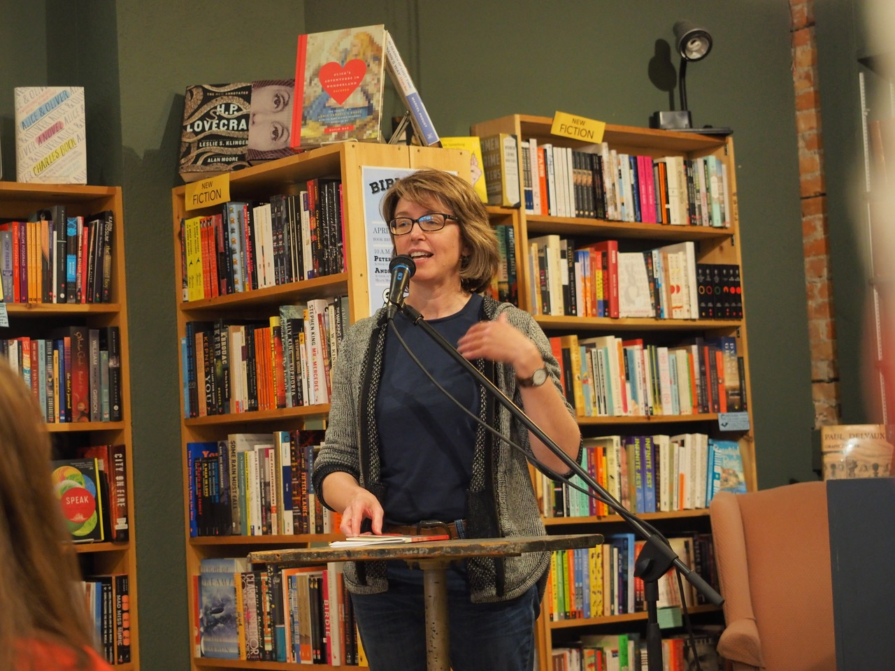 Susan Holbrook Reading