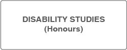 Go to our site for Disability Studies Honours