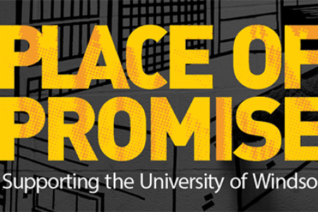 """University of Windsor Place of Promise logo"