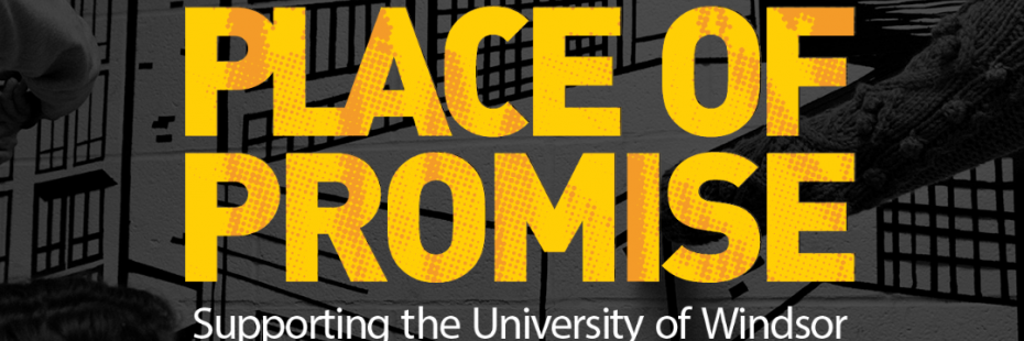 University of Windsor Place of Promise logo