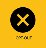 Opt Out button