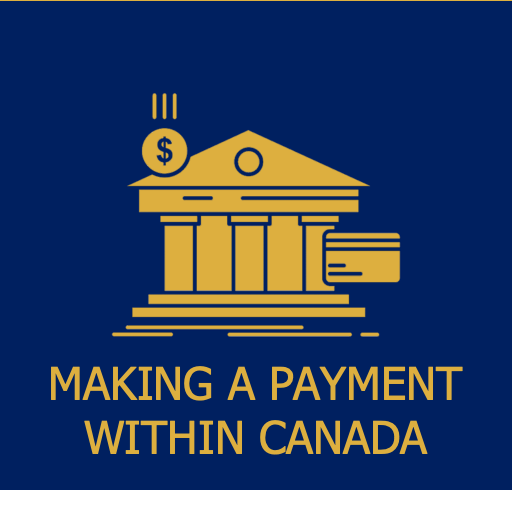 make payment within Canada