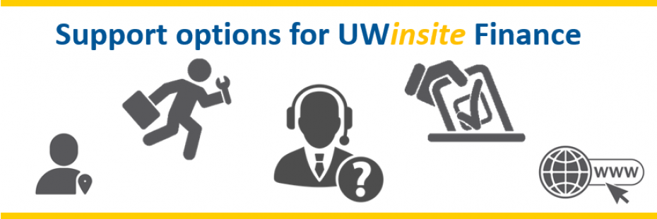 Support options for Uwinsite Finance
