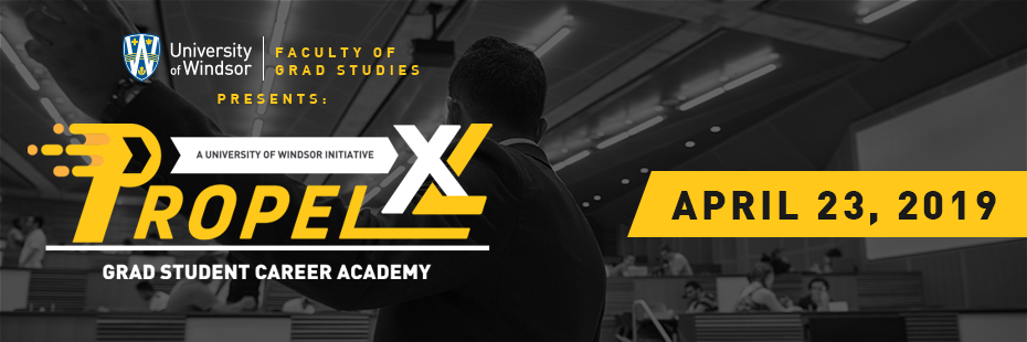 Propel XL Grad Student Career Academy April 23rd, 2019