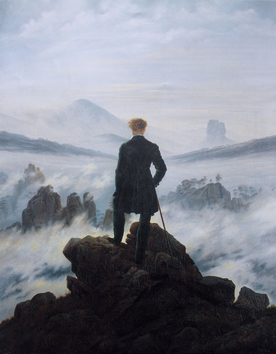 Caspar David Friedrich - Wanderer Above the Sea of Fog 1818