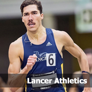 Lancer Track and Field athlete