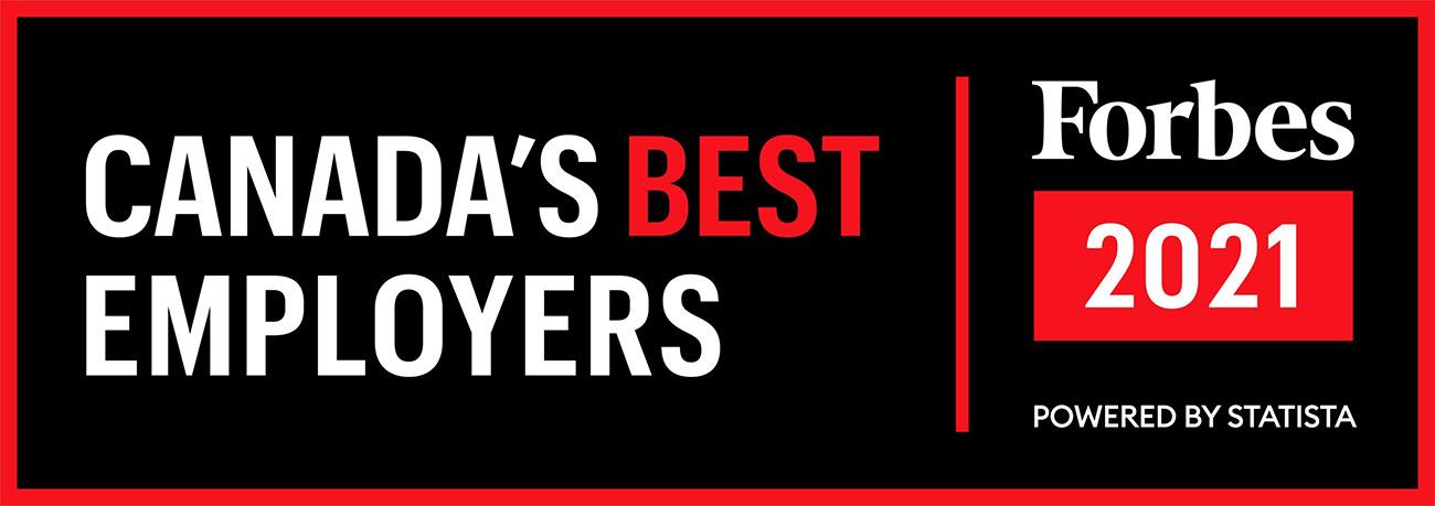 Forbes Canada's Best Employer logo